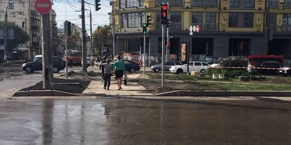На Подолі облаштували новий пішохідний перехід