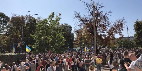 Центром Києва пройшов Марш захисників України