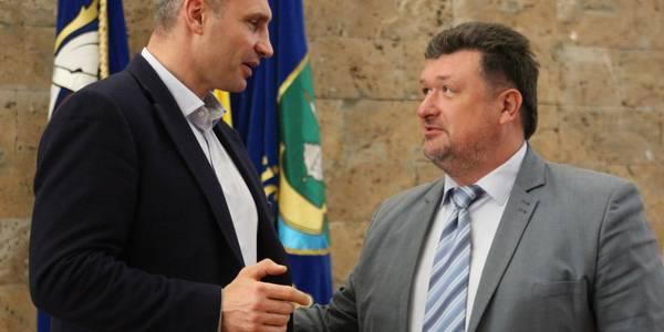 Кличко представив нового керівника Дарницького району