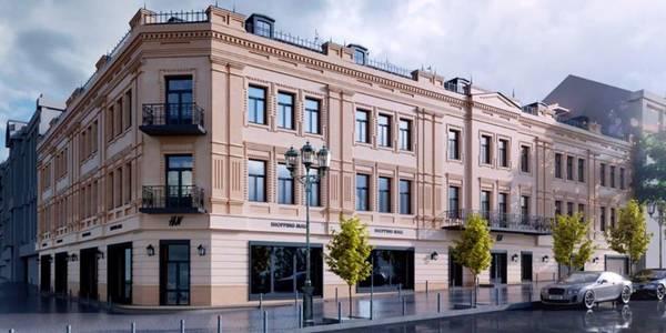 Центральний гастроном у Києві після реконструкції матиме три поверхи й терасу на даху