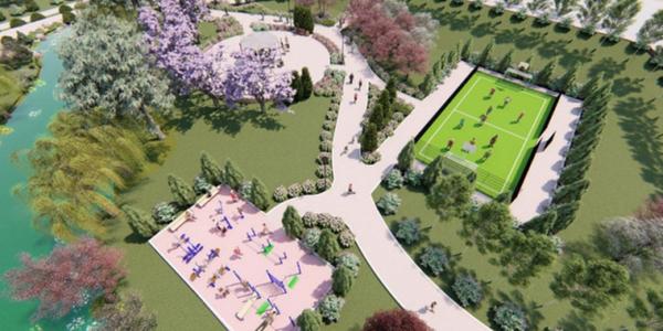 На Троєщині почнуть будувати третю чергу парку на проспекті Шухевича