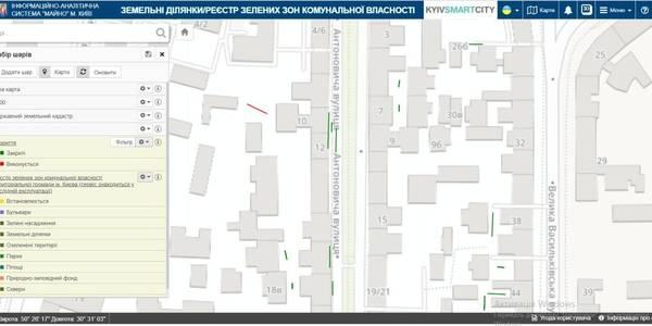 Усі розриття потрапили на одну карту в Києві