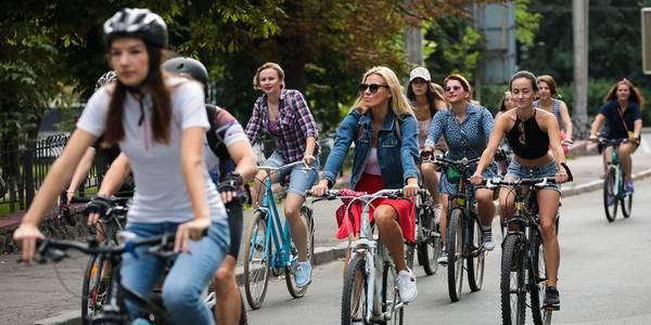 В центрі Києва відбудеться марш жінок на велосипедах