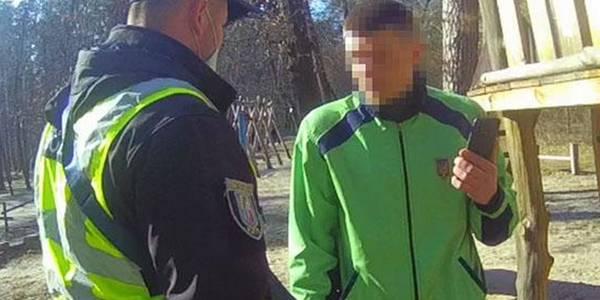 У Києві жорстко затримали порушника карантину