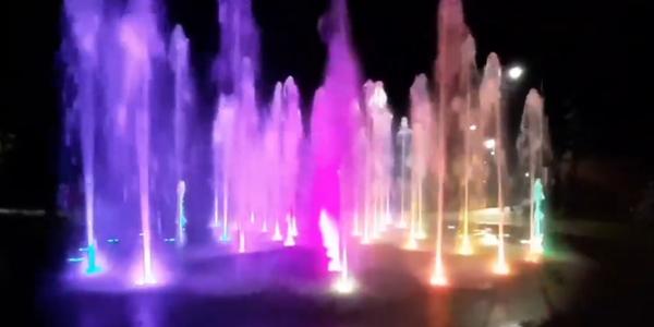 У Сирецькому парку відбулися пробні запуски фонтану