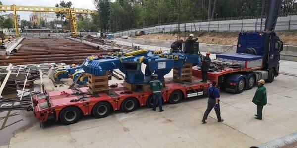 Італія надіслала необхідні механізми для будівництва метро на Виноградар