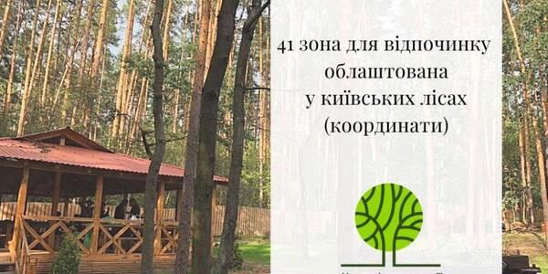 Киян запрошують у лісові зони відпочинку невеликими компаніями та з антисептиками