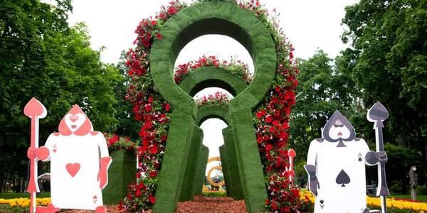 Казкова виставка квітів у Києві потрапила до книги рекордів