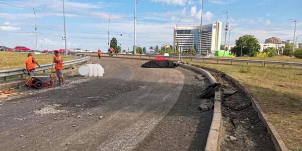 Стало відомо, коли відремонтують розв'язку на проспекті Соборності у Києві