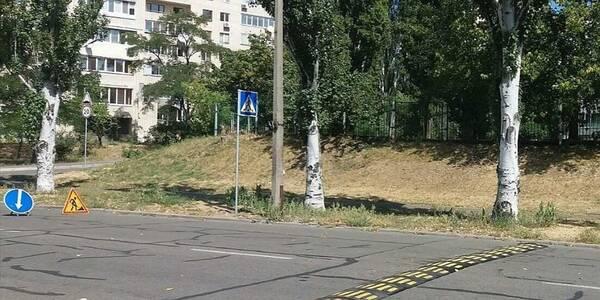 У Дніпровському районі біля дитячих садків встановили лежачі поліцейські