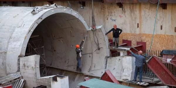 Особливе метро на Виноградар: нові фото з будівництва столичної підземки