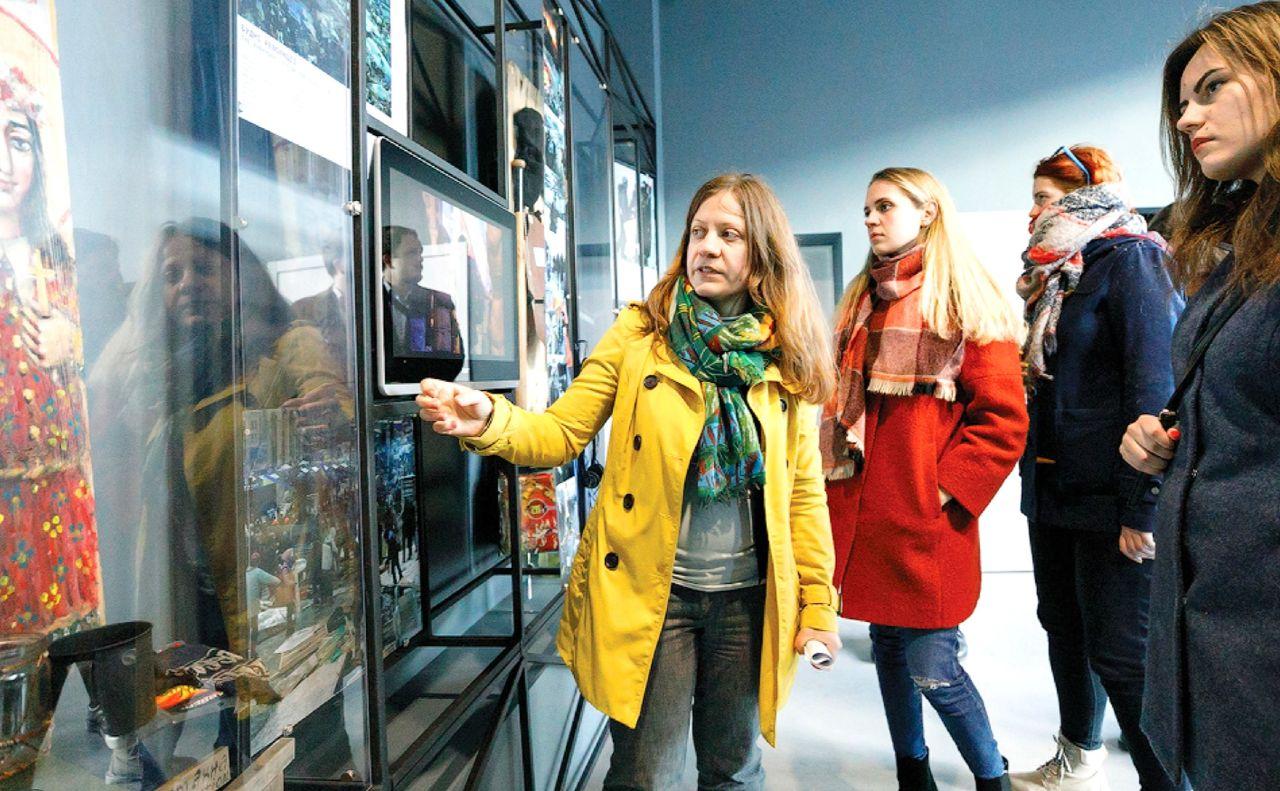 Відвідувачів знайомлять зекспозицією «Назустріч свободі»