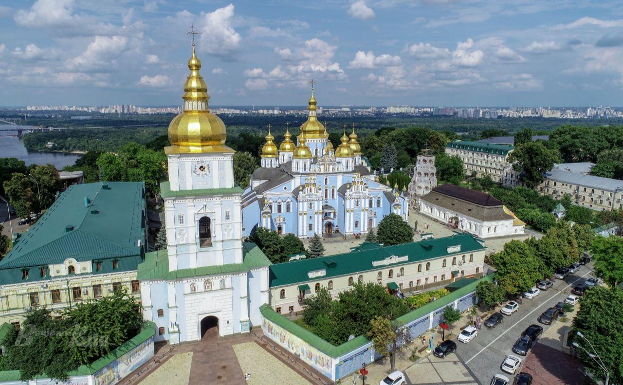 Михайлівський Золотоверхий кафедральний собор. Фото: архів «Вечірній Київ»