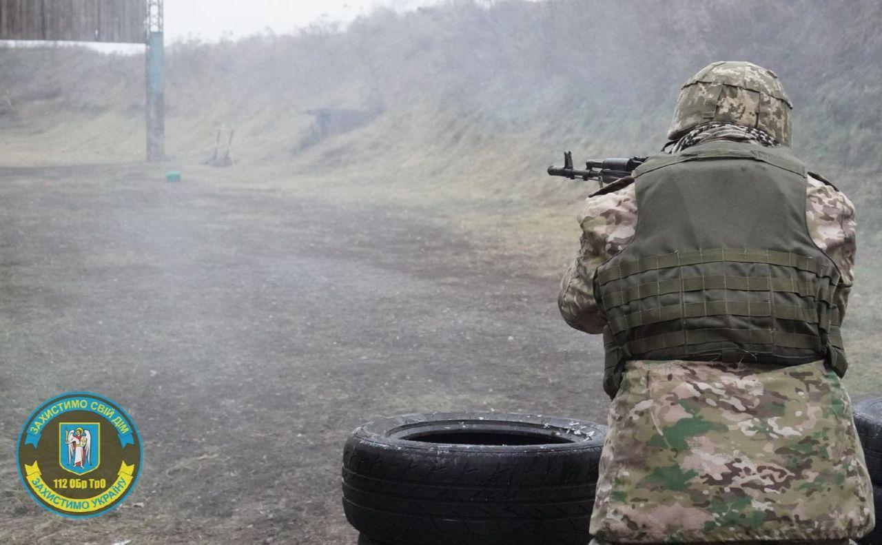 Резервісти постійно тренуються. Фото: ФБ-сторінка «112БрТРО»